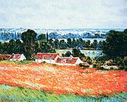 """New artwork for sale! - """" Claude Monet - Poppy Field At Giverny by Claude Monet """" - http://ift.tt/2kRmhP1"""