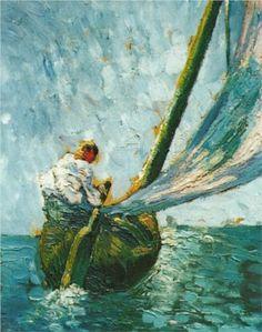 The Tartan 'El Son' - Salvador Dali  1919. Post- Impressionism .