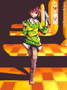 Chara [Undertale Genocide Route] by MiknCookies on DeviantArt