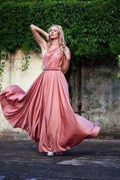 Goddess bridesmaid.