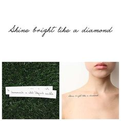 Nightlight - Temporary Tattoo (Set of 2)