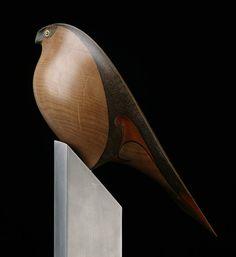 Karearea • New Zealand Falcon by Rex Homan, Māori artist (KR70901)