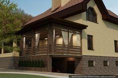 Проект крыльца дома фото, проект веранды к дому