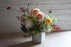 Tin Can Studios Brooklyn, portfolio of floral arrangements for events. – Tin Can Studios