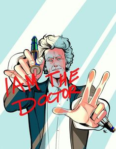 Doctor 12 ' I AM THE DOCTOR'.