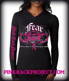 "Fear No Rack Thermal Fitted Hoodie ""Hunters Unite In The Breast Cancer Fight"" Cotton / Polyester, Slim Fit Pink Camo, Breast Cancer Awareness, Hoodies, Sweatshirts, Country Girls, Girly, My Style, Sweaters, Cotton"