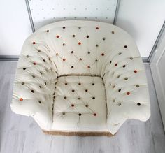 Retro chair from Sweden  1970'S FLOWER. Big and by nataljadesigner, €565.00