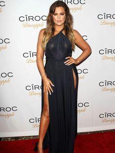 Khloe Kardashian - French Montana birthday party
