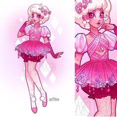 Pink Diamond Steven Universe, Steven Universe Gem, Universe Art, Cartoon Games, Cartoon Art, Female Character Design, Character Art, Pink Diamond Su, Steven Univese