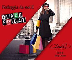 Come festeggerai questo #BlackFriday? Chiara D. ti aspetta in negozio (e sul suo store online) per poter soddisfare ogni tua irresistibile smania di #shopping http://www.chiarad.it/collezione-fall-winter/acquista-per-designer.html #dress   #fashion   #online   #store