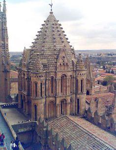 Catedral vieja de Salamanca, España
