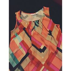2 for $8 SALE  Multi-Color Top Lightly worn, excellent condition, great for Spring ☀️ Bundle & Save  Liz Claiborne Tops Blouses