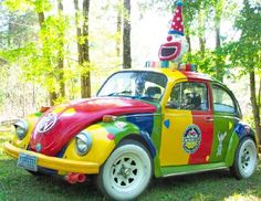 The Clowning For Kidz Foundation has a clown bus! 6/13