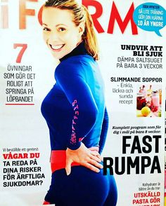 The article written about me in Scandinavia's largest fitness magazine I FORM is out now in the stores! #fitness #IFORM #leggings #workout