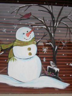 Winter window art 2013