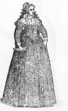 "Venice, The Republic of Venice, Cesare Vecellio, Costume of Venetian women, 1550, From ""De gli Habiti antichi et moderni di Diverse Parti del Mondo"" 1589-90"
