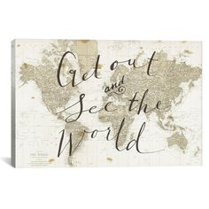 Get Out and See the World by Sara Zieve Miller – Hearts Attic