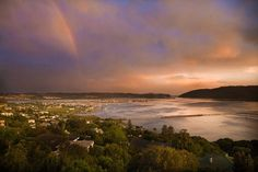 A heavenly view of Knysna Lagoon Knysna, Paradise Found, Heavenly, Sunsets, Entrance, Journey, African, Beach, Water
