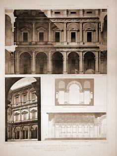 Roma - Cortile di Palazzo Farnese