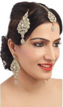 Amazing White Artificial Jewellery Earrings For Womens Jewellery Earrings, Stone Earrings, Fashion Earrings, Jewelry Art, Silver Jhumkas, Sapphire Earrings, Fashion Addict, Blue Sapphire, Fashion Art