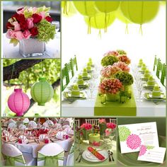 Wedding Colour Combinations - New Trends For Planning Your Wedding in 2014