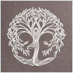 Yoga Tattoos, Life Tattoos, Tatouage Yogi, Mundo Hippie, Yoga Tree Pose, Celtic Tree, Tatoo Art, Yoga Art, Meditation Art