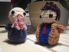 This is Dr. Who crochet