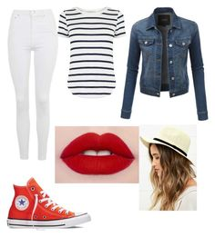 """Seaside"" by teresarguero on Polyvore featuring Topshop, Converse, LE3NO, Oasis and LULUS"