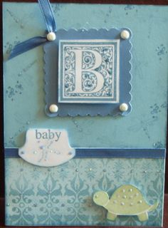 baby page and card inspiration