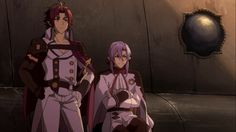 Owari no Seraph Season 2 - Ferid Bathory, Crowley Eusford - Episode 12