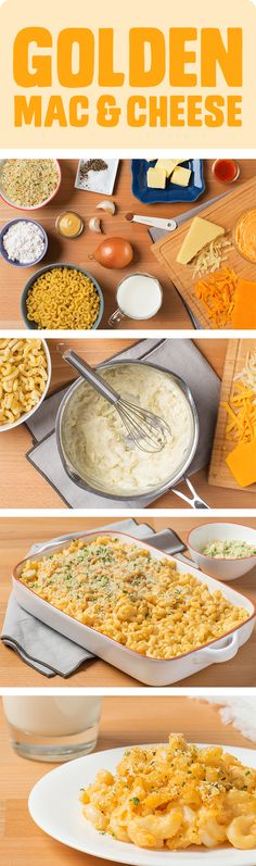 There's mac and cheese out of a box, and then there's this. Which comes from an easy recipe that you can get here. It's creamy and cheesy, naturally, and will make you a star at dinner time. Choose the macaroni you want and even switch up the cheese to make the recipe your own.