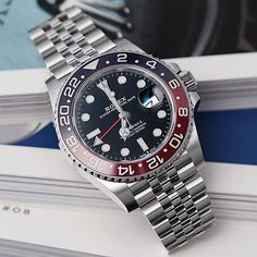 Cool Watches, Rolex Watches, Rolex Gmt Master 2, Watches Photography, Luxury Watches For Men, Vintage Watches, Men Watch, Accessories, Instagram