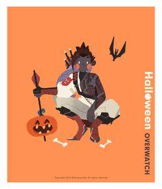 Overwatch Halloween on Behance Overwatch, T Play, Character Design, Behance, Animation, Fan Art, Halloween, Wallpaper, Drawings