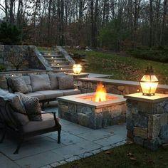 Fire place..garden
