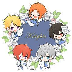 Cute Anime Chibi, Cute Anime Boy, Comedy Anime, Ayato, Ensemble Stars, Character Design Inspiration, Cute Illustration, Sword Art Online, Fire Emblem