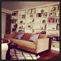 Ikea Billy bookshelf built in