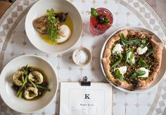 """See 39 photos and 8 tips from 176 visitors to Kepos & Co. """"Beautiful fresh hummus grind & mixed at your table with amazing pides"""" Roasted Eggplant Salad, Roast Eggplant, Baked Beetroot, Spinach And Feta, Spinach Leaves, Sydney Food, Slow Cooked Lamb, The Fish Market, Wagyu Beef"""