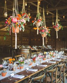 Thanks to @theknot for sharing one of @rebekahjmurray images from the bouquet of this wedding a few years ago with @gritandgraceinc. It feels like this wedding will never stop circulating and being shared which is awesome because it was an amazing day for a truly amazing couple!! #kevandele We just pulled a few of these macrame pieces out of storage after moving and can't wait to hang a few in the warehouse they bring back such wonderful memories!! | #sweetrootvillage #srvflowers…