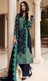 Blue Color Georgette Embroidered Palazzo Suit  #palazzosalwarsuitusa #printedpalazzosuits Throw a spin to your overall looks draped in this blue color georgette embroidered palazzo suit. That you can see some intriguing patterns completed with resham work.  USD $ 125 (Around £ 86 & Euro 95)