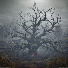 ArtStation - Possessed Tree, Ilya Ivanov