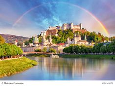 How to spend one day in Salzburg, Austria. On this guide, you will learn what to see and do in Salzburg in one day including the Hohensalzburg Castle, Mirabell Gardens, the Cathedral and more. Vietnam Hotels, Places In Europe, Places To Go, Morocco Hotel, Belgium Hotels, Luang Prabang, Beach Town, Beach Club, Great Barrier Reef