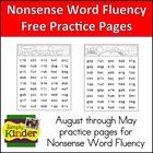 Use these fun pages to practice reading NSF words.  I put them in folders at the kids tables so they can practice them as a fast finisher or during...