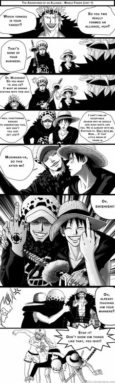 One piece- The Middle Finger (part1)