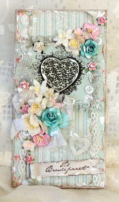 Bryllupskort. Stempelglede design team blog. Merete Kildahl Jaklin. Shabby Chic Cards, Card Maker, Smash Book, Flourish, Wedding Cards, Cardmaking, Decorative Boxes, Invitations, Card Designs