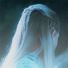 Legolas and the slow, sultry turn... -- Seriously the Mirkwood Royal Family has elegance, stunning beauty & gorgeusness in their genes ! :))