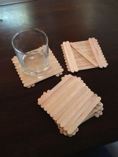 Plain Popsicle Coaster