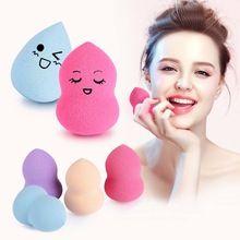 1 Pcs Face Make Up Esponja Sopro de Cosméticos Pró Fundação milagre Maquiagem Esponja Blender Flawless Pó Suave Sopro de Beleza Mini ovo alishoppbrasil