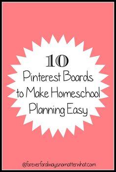 Make Homeschool Planning Easy