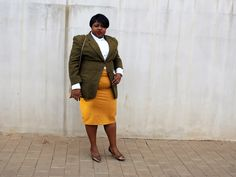 Mustard skirt and wool jacket outfit Mustard Skirt, African Fashion, Personal Style, Style Inspiration, Lifestyle, Skirts, Jackets, Outfits, Skirt