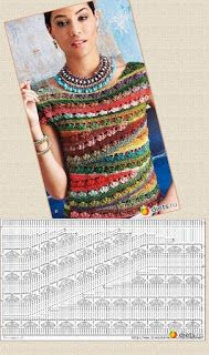 ideas dress wrap pattern free kielo for 2019 This post was discovered by esti brustein.) your own Posts on Unirazi - Salvabrani Knitting Patterns Sweter I like to knit and crochet. Ravelry: PCRider's Summer tee link to pattern Ballet-Neck Tee by Linda Sku Débardeurs Au Crochet, Cardigan Au Crochet, Pull Crochet, Mode Crochet, Black Crochet Dress, Crochet Jacket, Crochet Diagram, Crochet Cardigan, Crochet Stitches